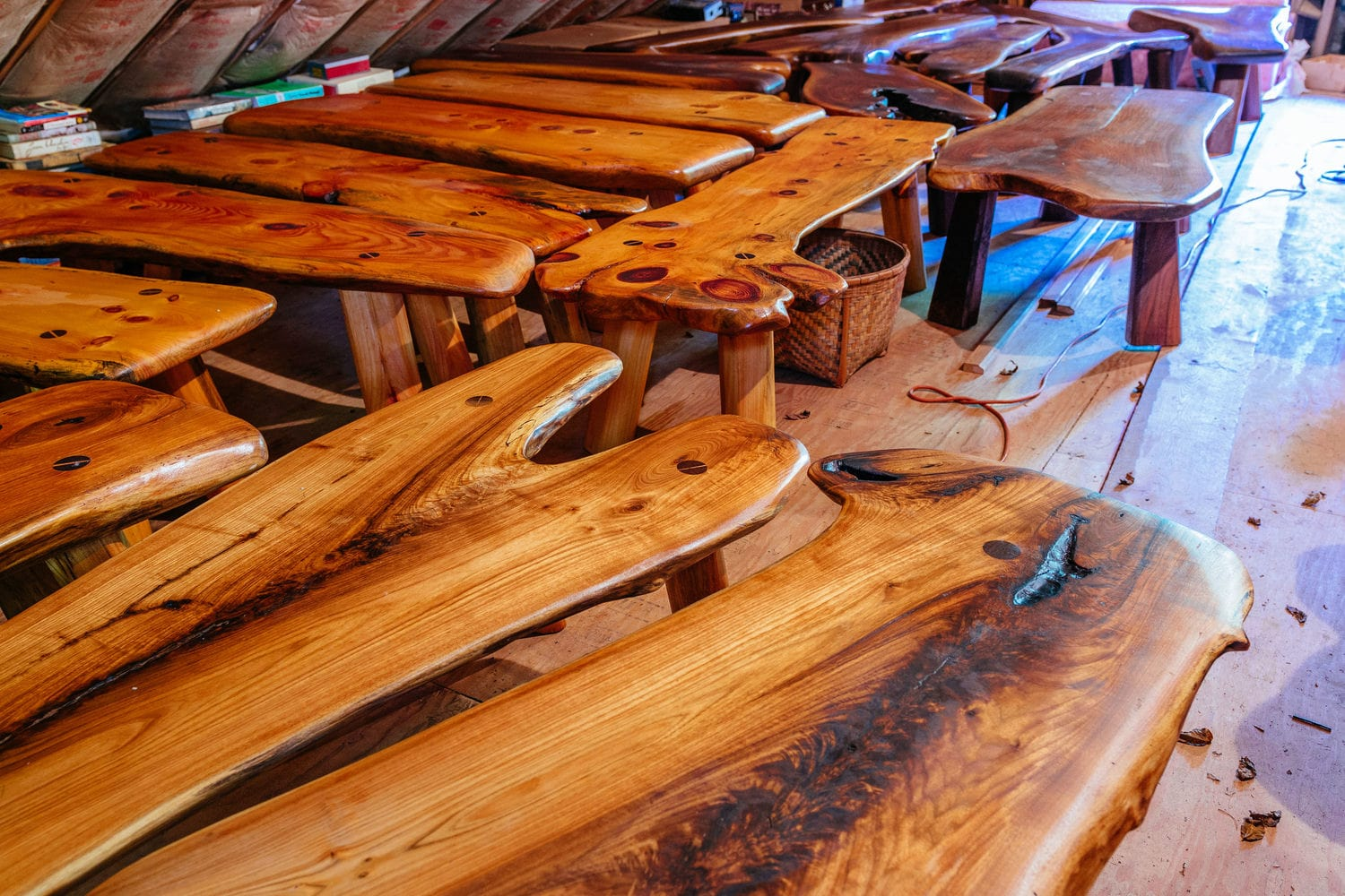 Hand Crafted Benches